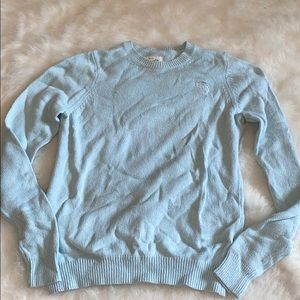 baby blue abercrombie sweater